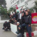 قابس: عمّال شركة بوشماوي في اعتصام مفتوح