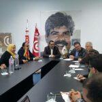"""في زيارته لتونس: حزب تركي يستعرض """"انتهاكات"""" نظام أردوغان"""