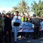 الحامة ومنزل الحبيب: مسيرة شعبية تزامنا مع الإضراب العام (صور)