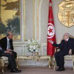 وزير الخارجية التركي في قصر قرطاج