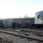 شركة سكك الحديد : جُنوح قطار قادم من قابس في اتجاه العاصمة