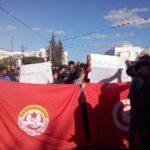فيديو/جبنيانة : مُواجهات بين مُحتجّين وقُوات الأمن وغدا إضراب عام