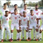 المنتخب الأولمبي التونسي يفوز على السعودية