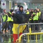 """مظاهرات في بلجيكا.. ورئيس الوزراء يردّ: """"السماء لا تمطر أموالا"""""""