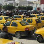 قفصة: وقفة احتجاجية لسُوّاق التاكسي الفردي