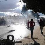 مصدر أمني : السيطرة على احتجاجات تالة بالغاز المُسيل للدموع
