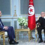 التقى قبله وفدا عن نداء تونس: أوّل لقاء ثنائي بين رئيس الجمهورية والشّاهد منذ شهرين