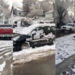 عين دراهم: الحماية المدنية تنقذ عائلات عالقة في الثلوج