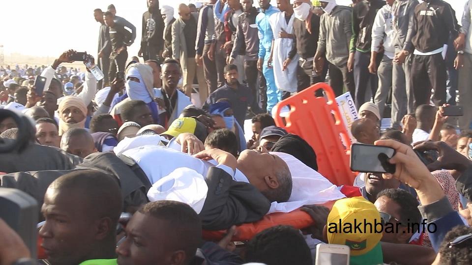 موريتانيا: إصابة وزير الميزانية في انهيار منصّة رسمية