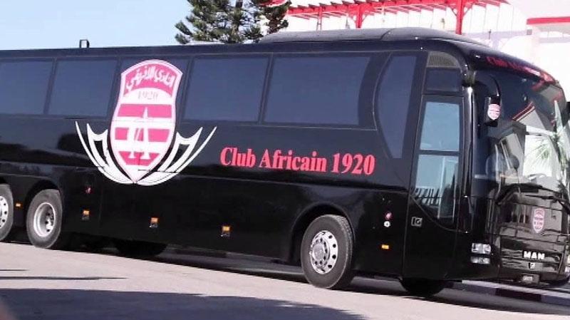الاعتداء على حافلة النادي الافريقي في سوسة