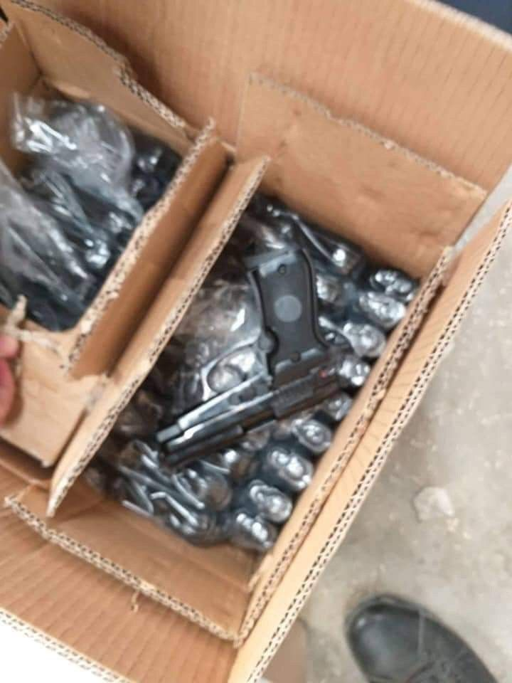 صور/ ليبيا: حجز ترسانة أسلحة قادمة من تركيا