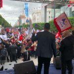 الهاروني: فوجئنا بحضور 20 ألف شخص احتفالية النّهضة بالثّورة