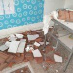 تالة: انهيار جزء من سقف قاعة الأساتذة بمعهد