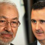 """في مقال بموقع """"الجزيرة"""": الغنوشي طبّع مع سفّاح الشام"""