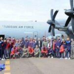 """على متن طائرة عسكرية : """"كوموندوس"""" الإفريقي يصل إلى لوبومباشي"""
