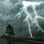 طقس اليوم: سحب كثيفة وأمطار رعدية