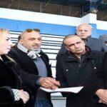 """ملعب زويتن """"المغلق"""" يفتح أبوابه لاستقبال الوزيرة والوالي ورئيس الجامعة"""