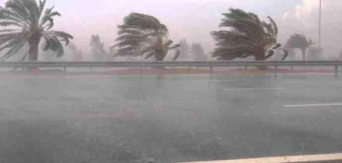 بداية من الغد : رياح قوية ..أمطار وانخفاض في درجات الحرارة