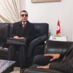أوّل باحث تونسي كفيف: وزارة التّعليم العالي تُكرّم وليد الزّيدي (صور)