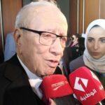 """الباجي قائد السبسي: """"حدودنا مفتوحة دائما أمام الليبيين"""""""