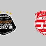 النادي الافريقي يخرج من مباراة مازمبي بأخفّ الأضرار