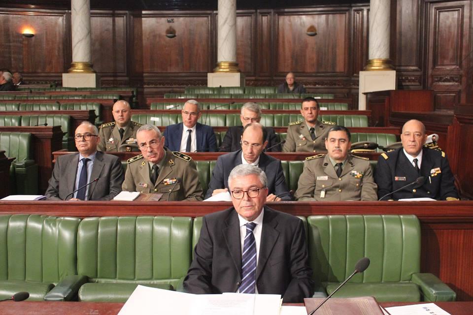 غدا : وزيرا الدفاع والعدل في البرلمان