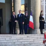 مصحوبا بـ3 وزراء ومستشارين: الشاهد يختتم زيارته بلقاء مع ماكرون