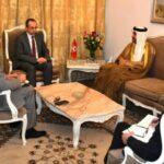 لقاء بين وزير الداخلية وسفير الإمارات