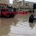 بعد تسرب المياه إلى منازلهم: الحماية المدنية تُجلي 12 شخصا