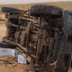 تطاوين: مقتل مُهرّب إثر انقلاب سيّارته