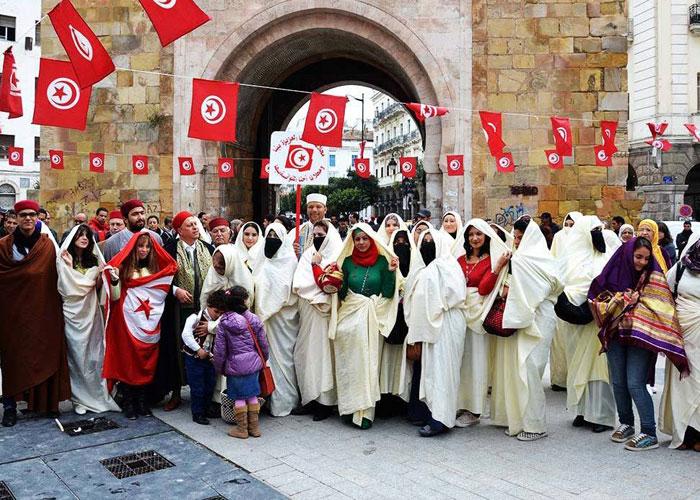 تونس تحتفي باليوم الوطني للباس التّقليدي