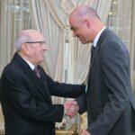 رئيس الجمهورية يلتقي بوزير الداخلية السويسري
