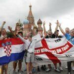 5 آلاف مشجّع أجنبي ما زالوا في روسيا