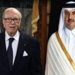 بعد مغادرته المفاجئة للقمّة: أمير قطر يُوجّه برقية لرئيس الجمهورية