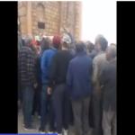سيدي بوزيد : العشرات يحاصرون مقر اجتماع عبير موسي والامن يتدخل