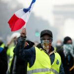 """اليوم: """"مسيرة سوداء"""" واحتجاجات بـ 10 مدن فرنسية"""