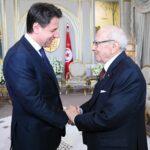 فحوى لقاء قائد السبسي برئيس الوزراء الإيطالي