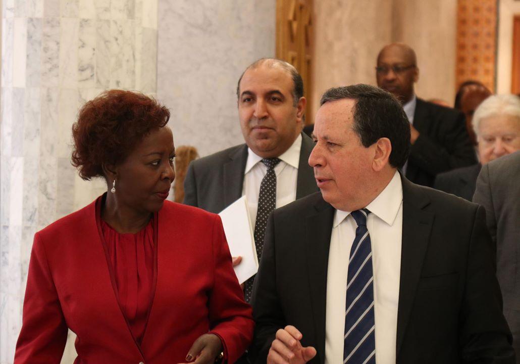 فحوى لقاء الجهيناوي بالأمينة العامة للمنظمة الدولية للفرنكوفونية