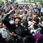 الأمن يُفرّق طلبة بالغاز المُسيل للدموع
