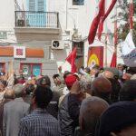 بعد شارع الحبيب بورقيبة: المُتقاعدون يحتجّون أمام البرلمان