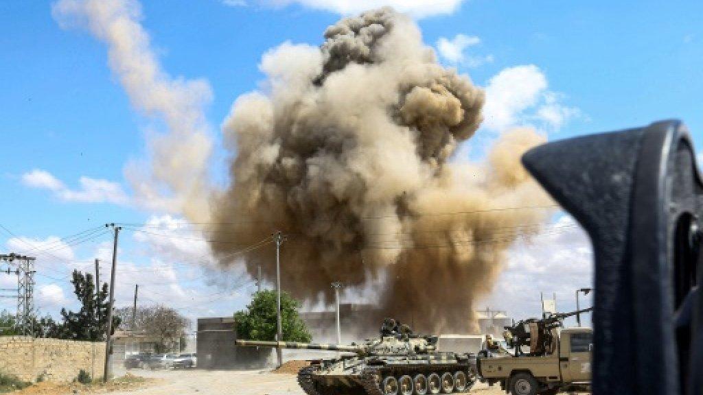 حصيلة مُحيّنة: 121 قتيلا و561 جريحا في معركة طرابلس