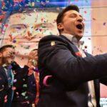 الانتخابات الأوكرانية : فوز ساحق للممثل الكوميدي فولوديمير زيلينسكي