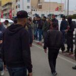احتجاجات سوسة: انقطاع في حركة المرور بـ5 طرقات