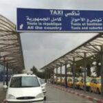 النفيضة: أصحاب التاكسي السياحي يحتجون أمام مدخل المطار
