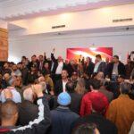 انتخابات القيادة: نداء تونس ينقل بقية أشغال المؤتمر الى تونس