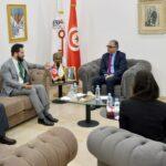 مرزوق يلتقي بمسؤول في سفارة أمريكا