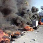 سيدي بوعلي : تجدّد الاحتجاجات وكرّ وفرّ بين الأمن والمحتجّين