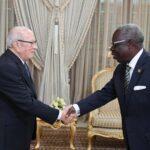 رسالة من رئيس غانا للباجي قائد السبسي