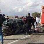 القيروان: مقتل عون حرس واصابة 6 من نفس العائلة في حادث مُروع