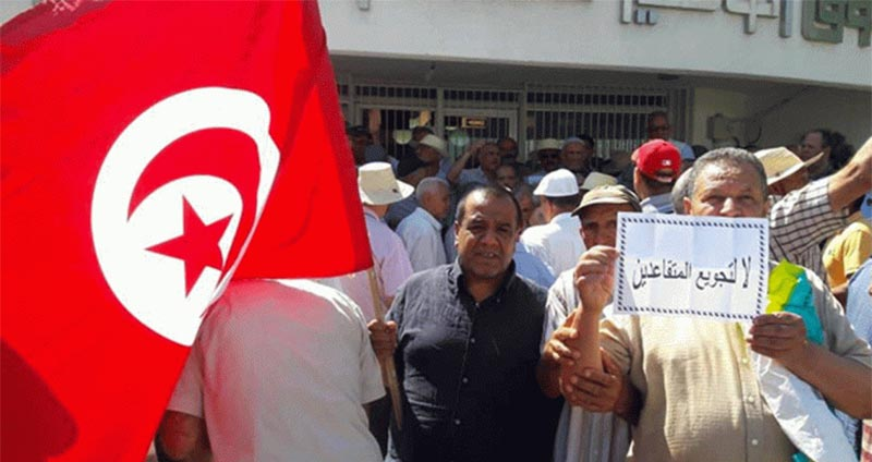 الجمعية التونسية للمتقاعدين : 163 ألف مُتقاعد يعانون الفقر